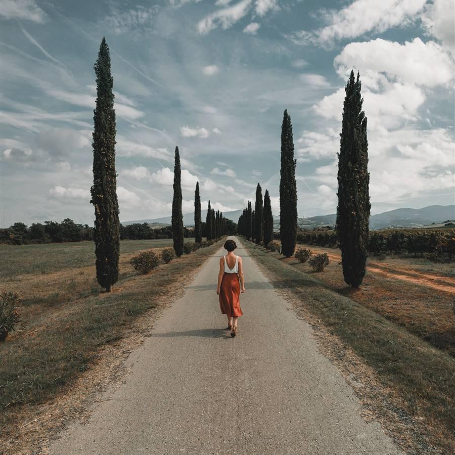 Meditación caminando guiada