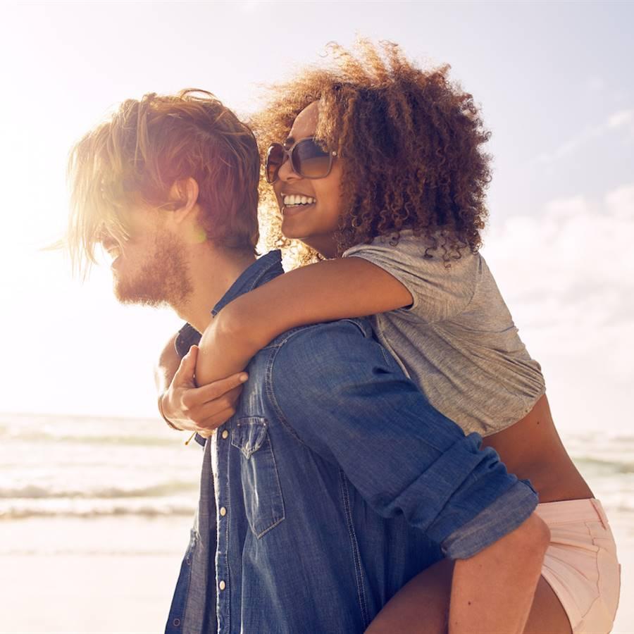 Felicidad de pareja